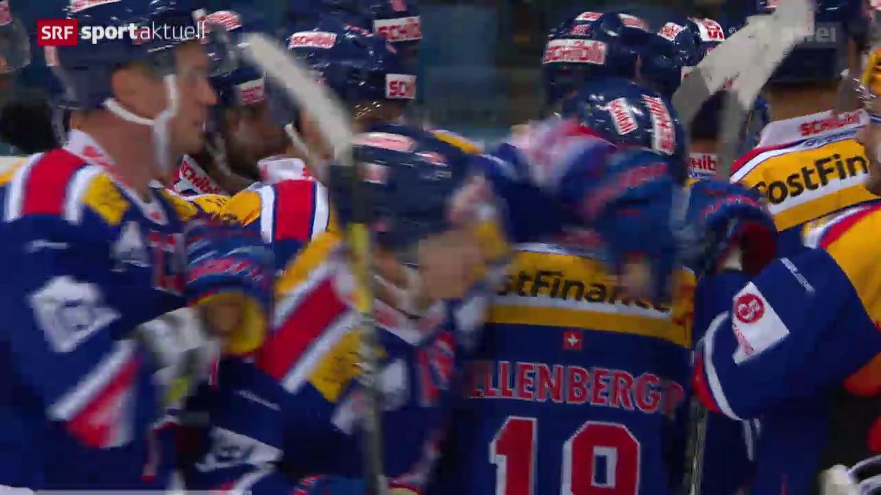 Eishockey: NLA, 15. Runde, Kloten - Zug