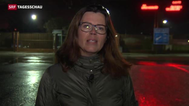 Video «SRF-Korrespondentin Ruth Bossart: «Die Grenze ist dicht»» abspielen