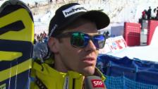 Video «Ski: Weltcup der Männer, Abfahrt auf der Lenzerheide, Interview mit Sandro Viletta (12.03.2014)» abspielen