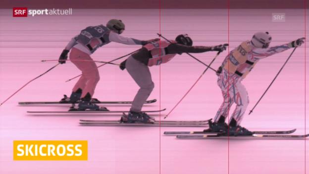 Video «Skicross: Rückschlag für Schweizer» abspielen