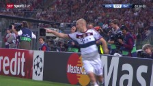 Video «Fussball: Champions-League, AS Roma - Bayern» abspielen