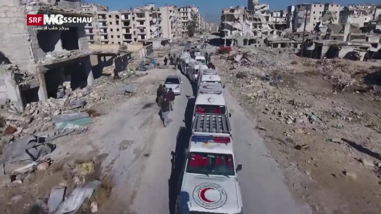 Evakuierung aus Aleppo unterbrochen
