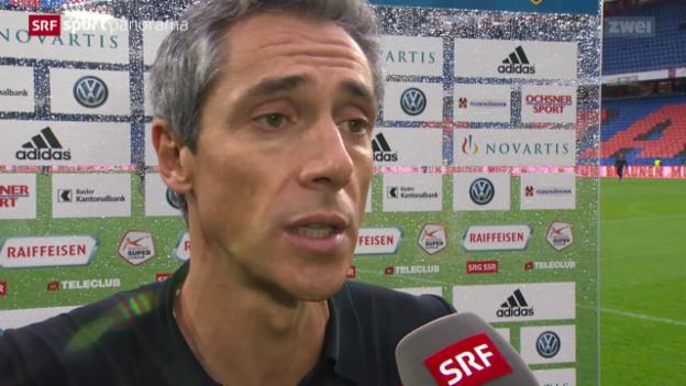 Video «Fussball: Super League, Basel - YB, die Stimmen zum Spiel» abspielen