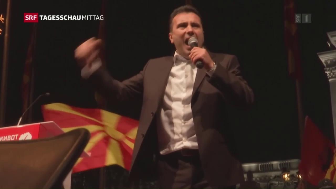 Pattsituation in Mazedonien