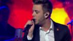 Video «Luca Hänni mit «Set The World On Fire»» abspielen
