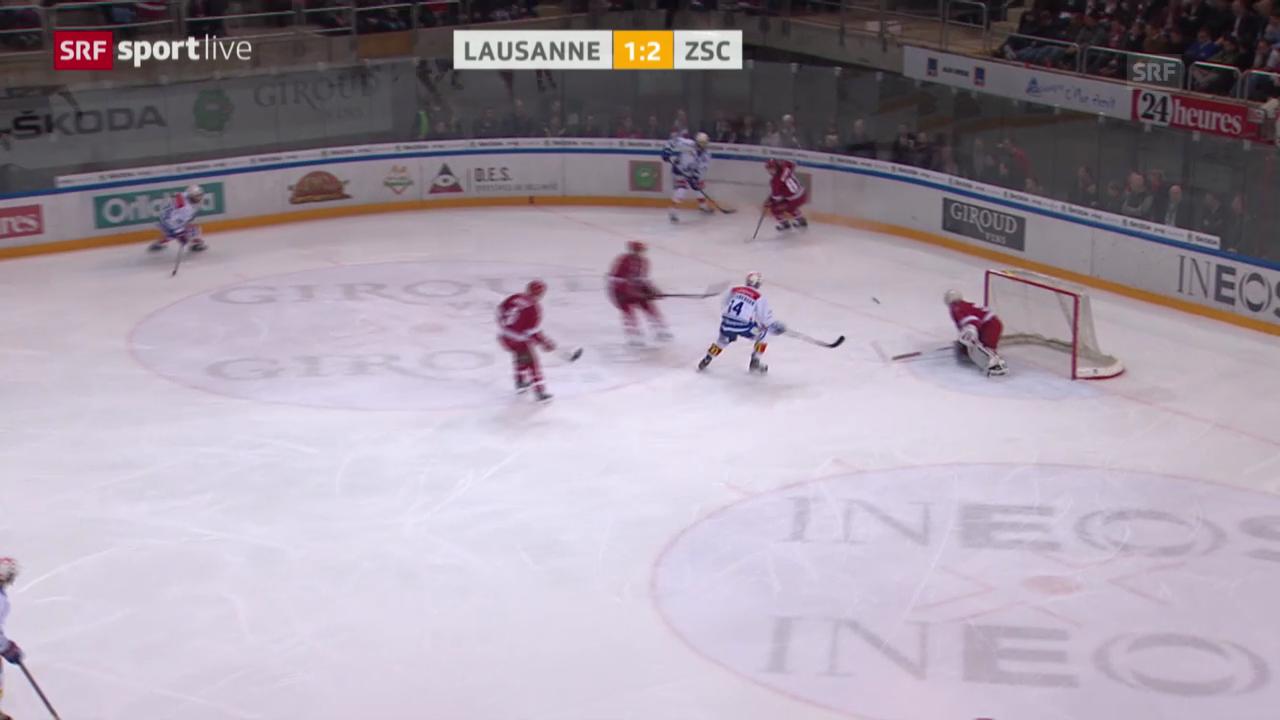 Eishockey: Lausanne - ZSC Lions («sportlive»)