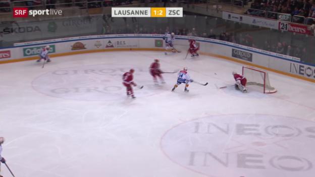 Video «Eishockey: Lausanne - ZSC Lions («sportlive»)» abspielen