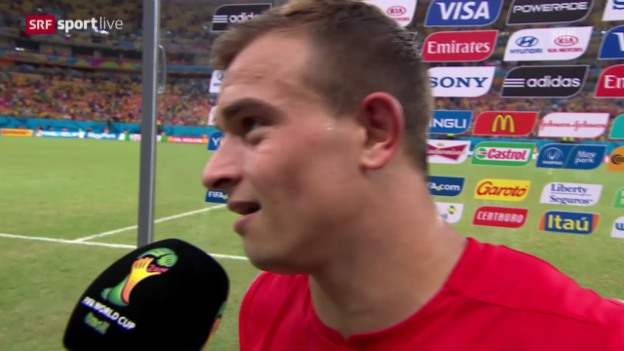 Video «FIFA WM 2014: Interview mit Xherdan Shaqiri» abspielen