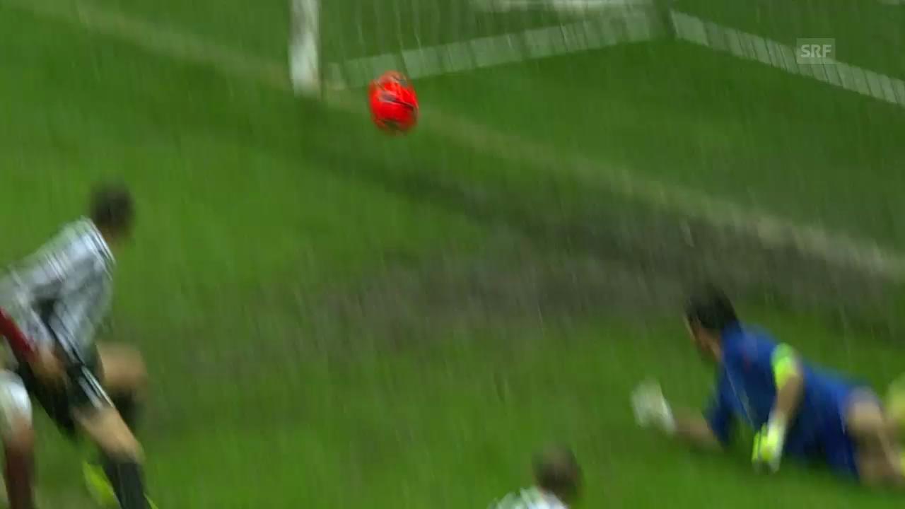 Spielbericht Galatasaray - Juventus («sportlive», 11.12.2013)