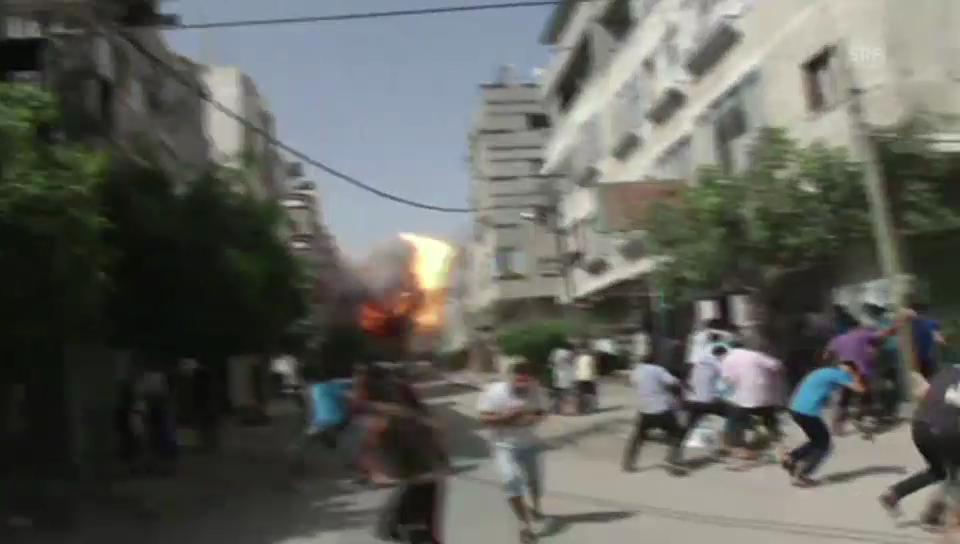Luftangriff auf den Gazastreifen