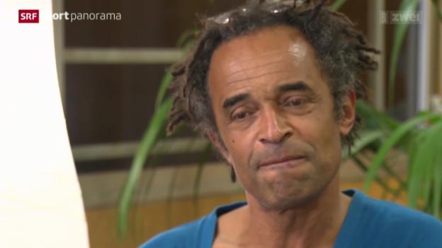 Video «Tennis: Frankreichs Showman Yannick Noah» abspielen