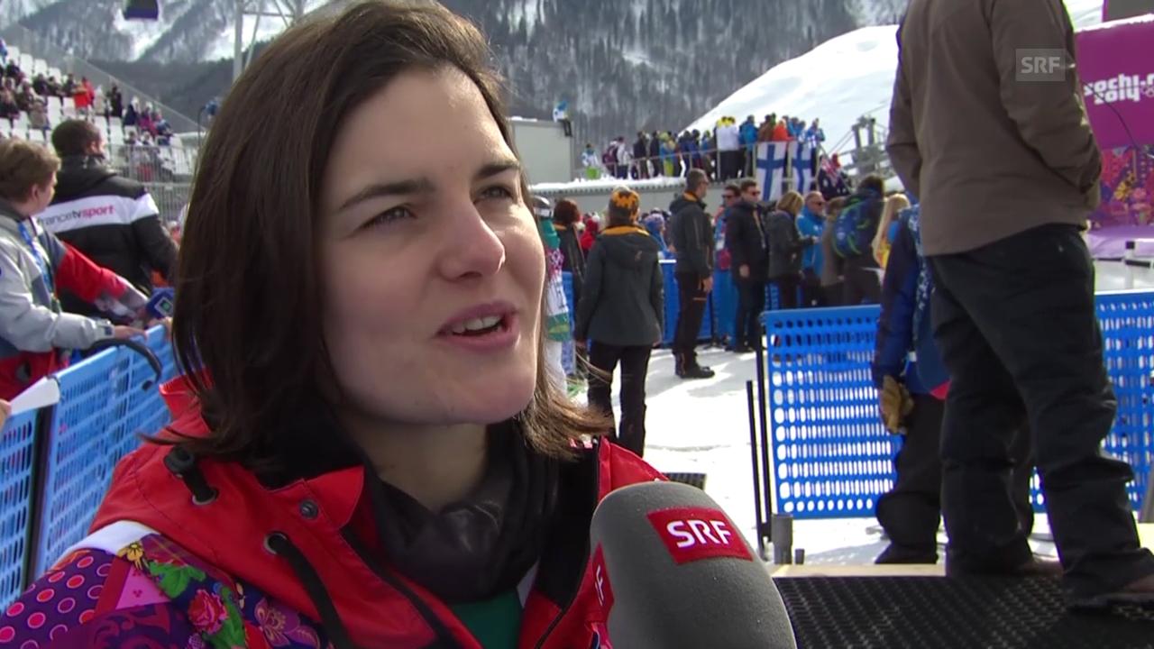 Snowboard Slopestyle: Interview mit Sina Candrian (sotschi direkt, 9.2.2014)