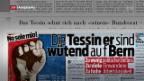 Video «Burkhalter-Nachfolger nicht zwingend ein Tessiner» abspielen
