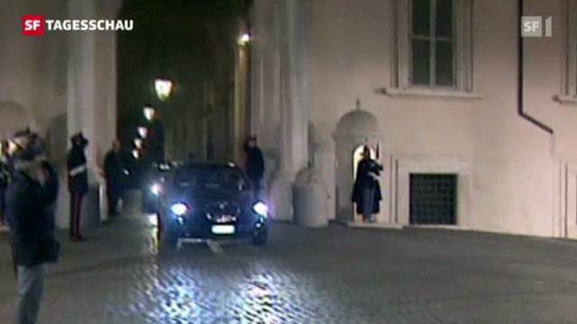 Mario Monti tritt zurück