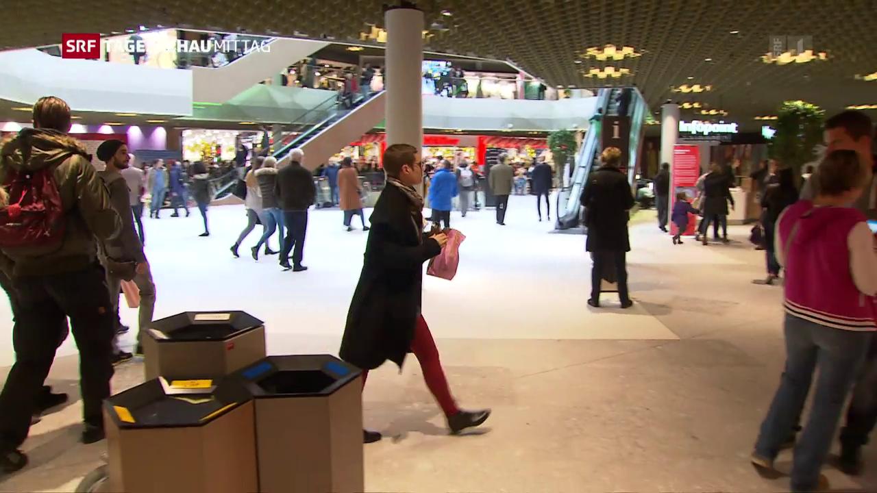 Zweitgrösstes Einkaufszentrum der Schweiz eröffnet
