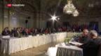 Video «Kaum Fortschritte zu Syrien in Wien» abspielen