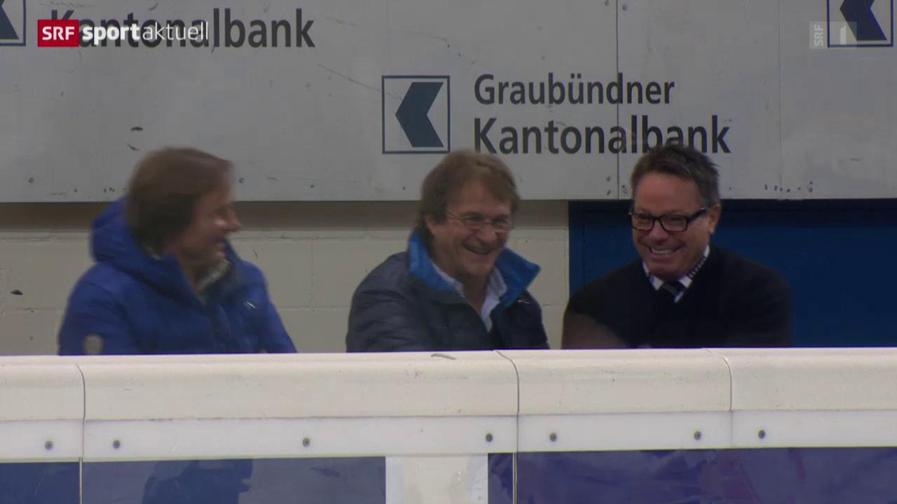 Eishockey: NLA, Davos - Genf