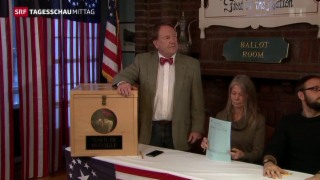 Video «Vorwahlen in New Hampshire » abspielen