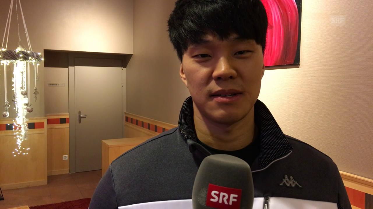 Donghyun Jung lehrt uns 2 Sätze in Koreanisch