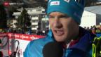 Video «Langlauf: Weltcup in Davos» abspielen