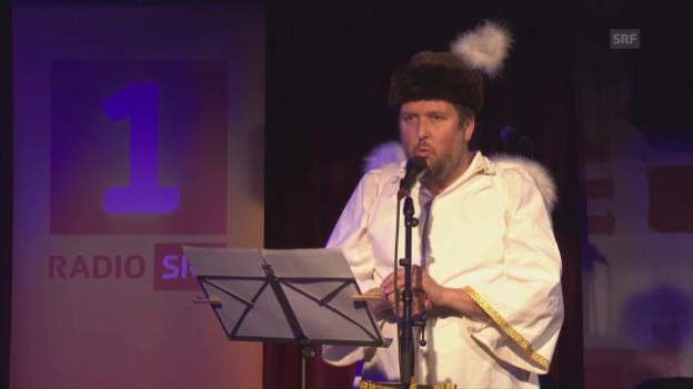 Video «Matto Kämpf zu 25 Jahre «Schnabelweid»» abspielen
