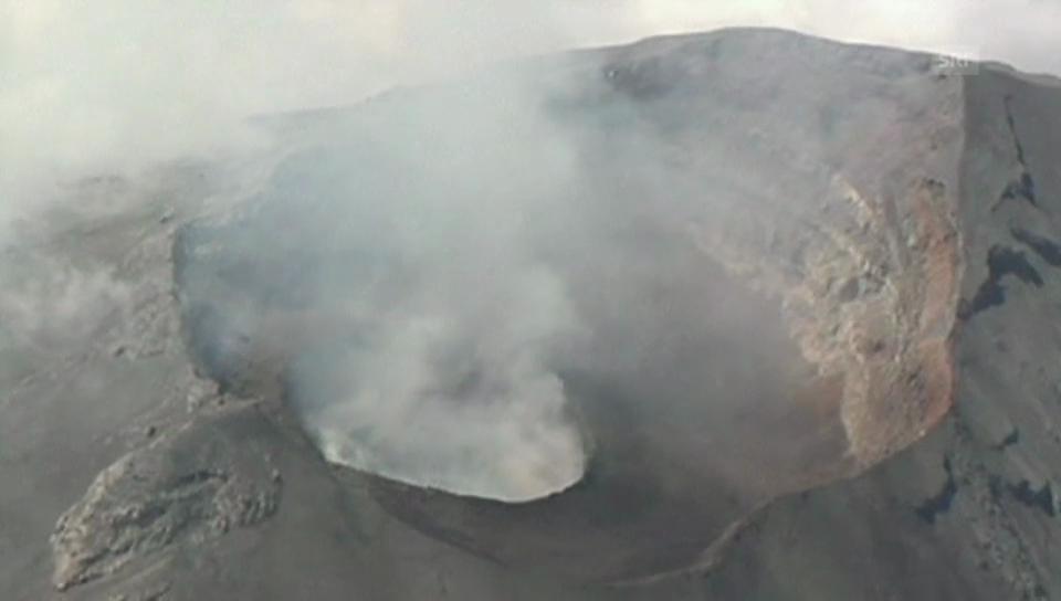 Verstärkte Aktivität am Popocatépetl