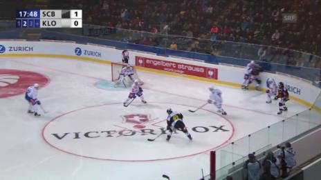 Video «Eishockey: Cupfinal Bern - Kloten, das 2:0 und das 3:0» abspielen