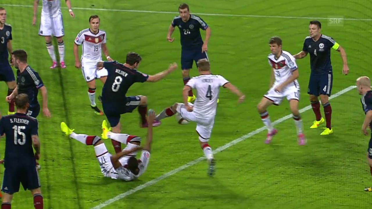Fussball: EM-Quali, Deutschland-Schottland