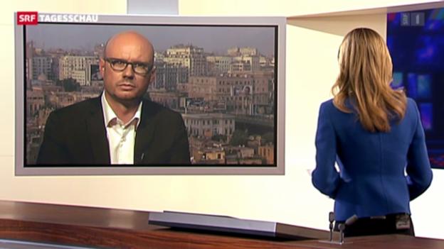 Video «Einschätzung von SRF-Korrespondent Pascal Weber in Kairo» abspielen