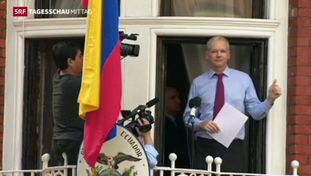 Video «UNO-Gutachten stützt Assange» abspielen