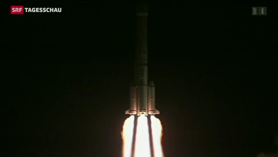 China startet erfolgreich Mondrakete