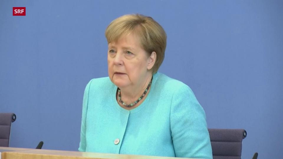 Merkel zu Ausbreitung der Delta-Variante und Impfungen