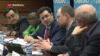 Video «Russischer Menschenrechtsaktivist in Genf geehrt» abspielen