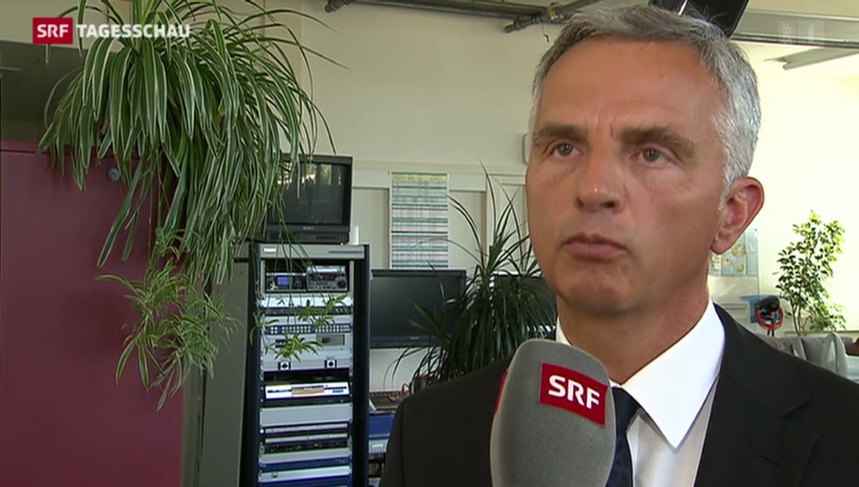 Didier Burkhalter äussert sich zu Schweizer Mithilfe