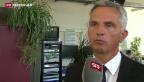 Video «Didier Burkhalter äussert sich zu Schweizer Mithilfe» abspielen