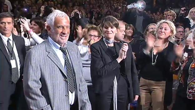Video «Jean-Paul Belmondo: geehrt und gerührt» abspielen