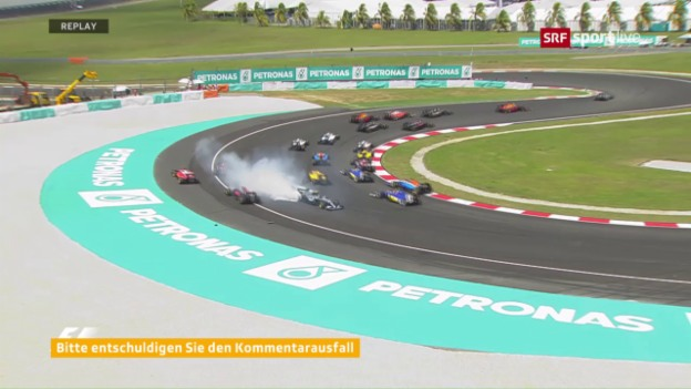 Video «Der turbulente Start in Sepang» abspielen
