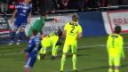 Video «Challenge League: Kein Sieger im Derby Wohlen-Aarau» abspielen