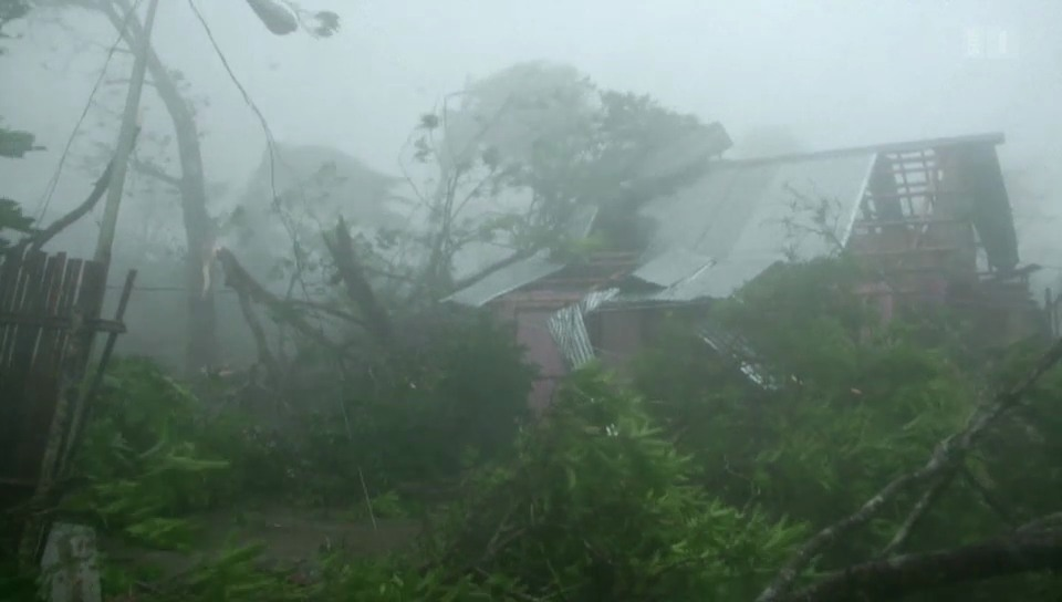 Angst vor Taifun auf den Philippinen