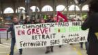 Video «Im Griff der Gewerkschaften: Bahnstreik in Frankreich» abspielen