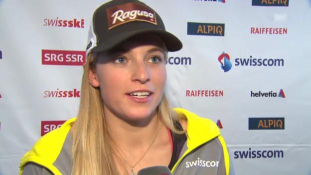Video «Ski: Gut und Gisin vor dem WM-Riesenslalom» abspielen