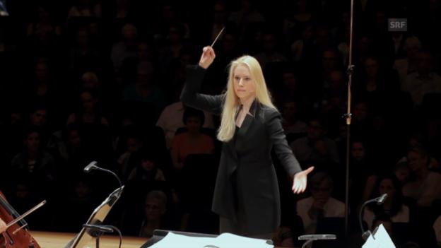 Video «Dirigentin Lena-Lisa Wüstendörfer über das «Adagietto»» abspielen