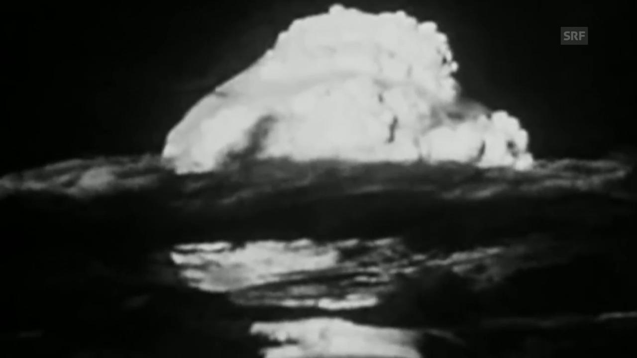 Die Detonation der ersten Wasserstoffbombe