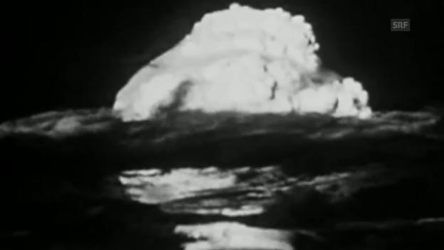 Video «Die Detonation der ersten Wasserstoffbombe» abspielen