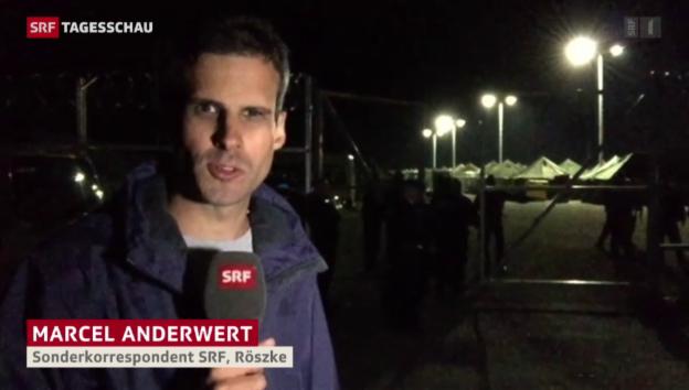 Video «Ungarisches Lager platzt aus allen Nähten» abspielen