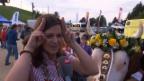 Video «Melanie Oesch über ihre Rolle als Gotte» abspielen