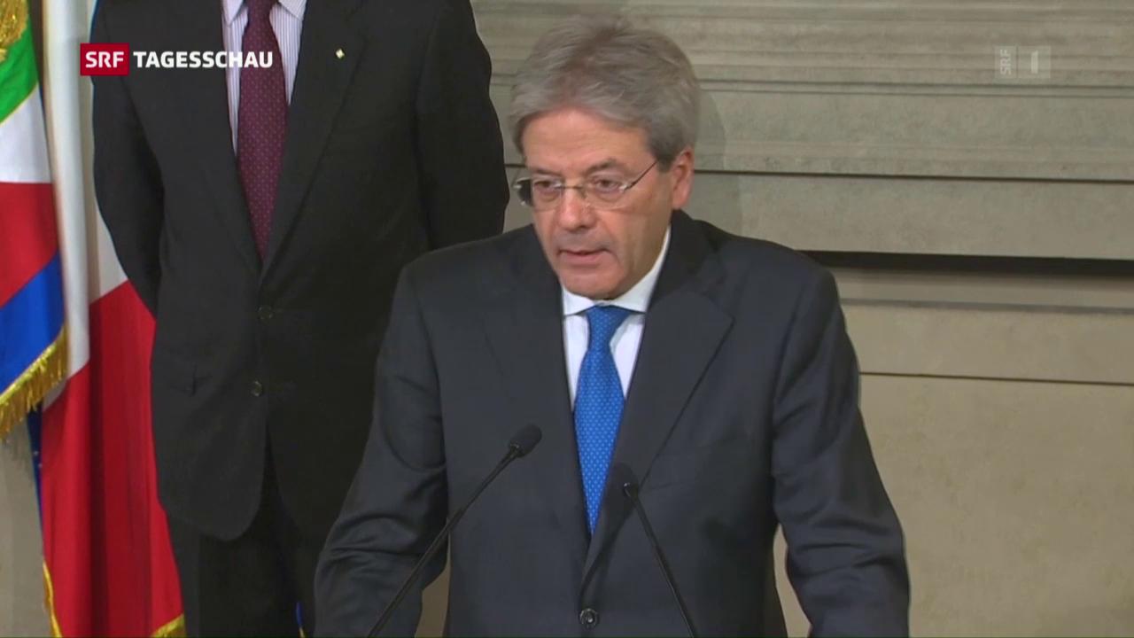 Italiens neuer Ministerpräsident