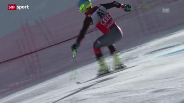 Video «Ski: Riesenslalom Männer Sölden («sportpanorama»)» abspielen