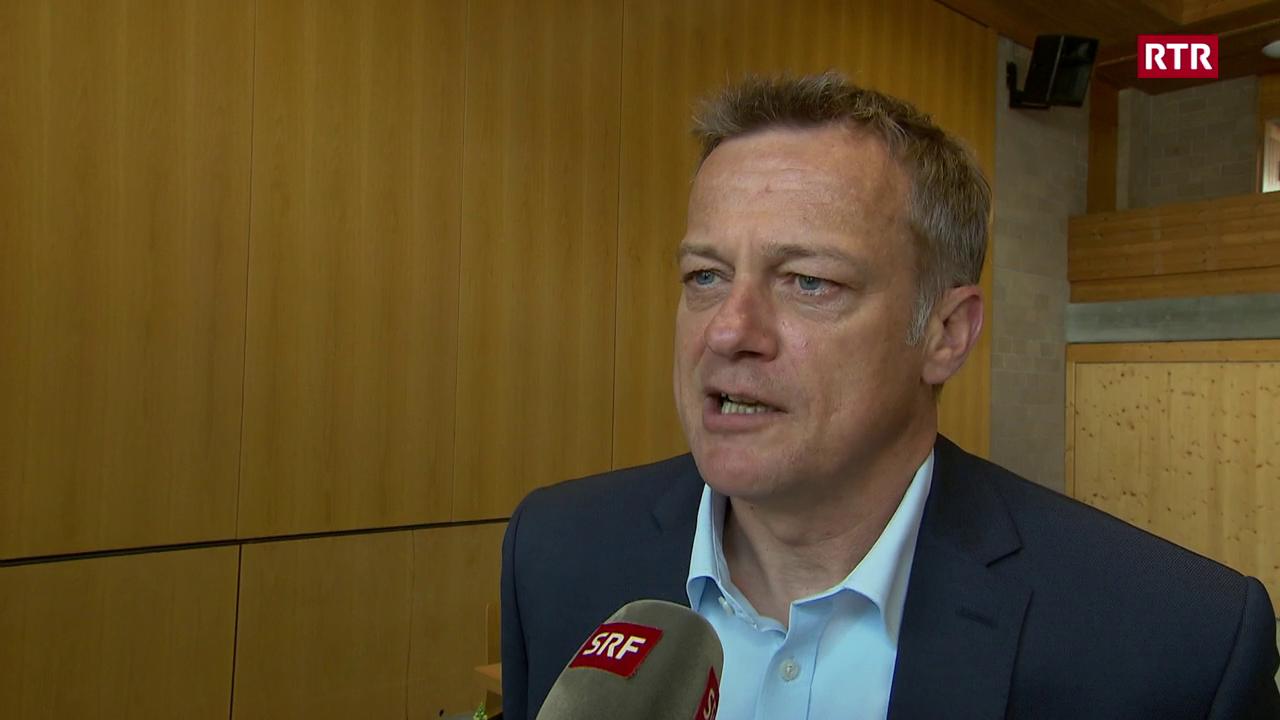 Il president da la PBD Svizra Martin Landolt