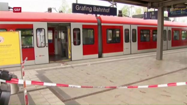 Video «Messerangriff bei München» abspielen